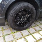 Bremssattel schwarz vorn